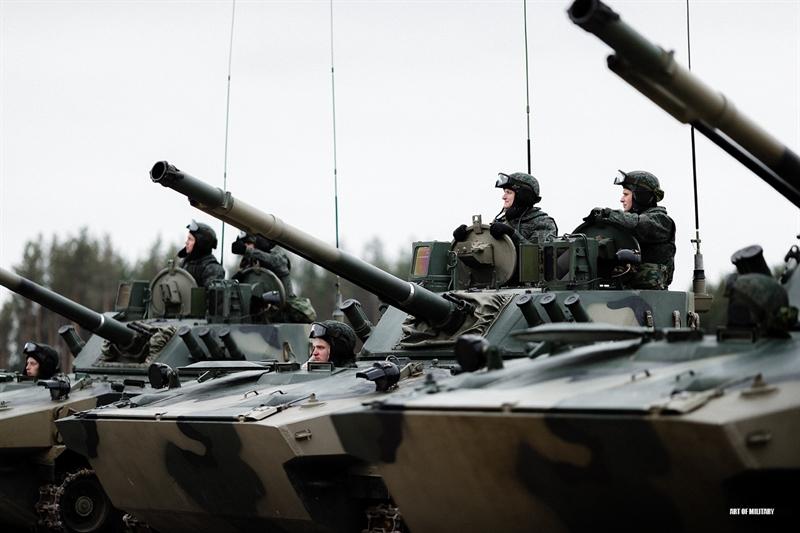 BMD-4M được thiết kế cải thiện khả năng bảo vệ và tăng cường hỏa lực chi viện cho lực lượng VDV trong nhiệm vụ đổ bộ đường không.