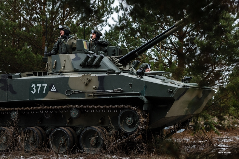 IFV này xuất hiện lần đầu tiên trình diễn năm 2008 và được trưng bày tại triển lãm Vũ khí và đạn dược (RAE) năm 2013. Loạt 8 xe BMD-4M đầu tiên vừa được nhà máy Kurganmashzavod bàn giao cho VDV để thử nghiệm thực tế vào cuối năm 2014 vừa qua.