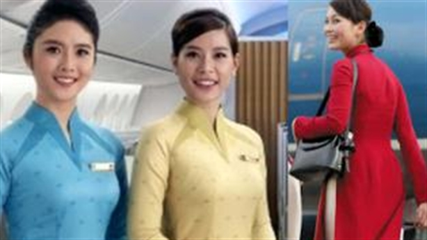 Nghi án đạo đồng phục mới của tiếp viên Vietnam Airlines