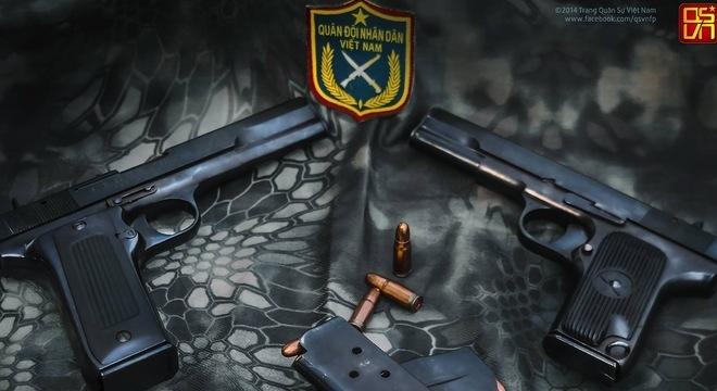 Để đảm bảo nhu cầu sản xuất và sửa chữa súng ngắn K-54, từ năm 2001, Viện vũ khí thuộc Trung tâm Khoa học công nghệ quân sự đã căn cứ trên mẫu súng TT-33 của Liên Xô và K-54 của Trung Quốc để xây dựng bộ tài liệu súng ngắn K-54VN.