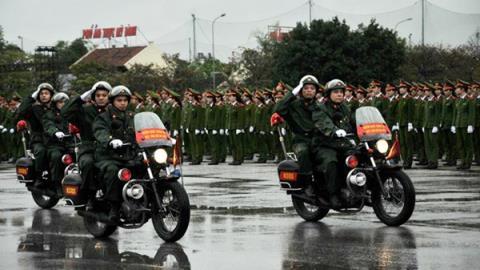Chính thức ra quân bảo vệ an toàn cho IPU 132