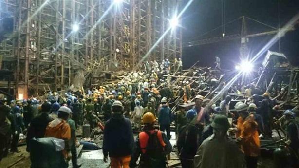 Hiện trường tai nạn Formosa: Dưới giàn giáo có...đường hầm?