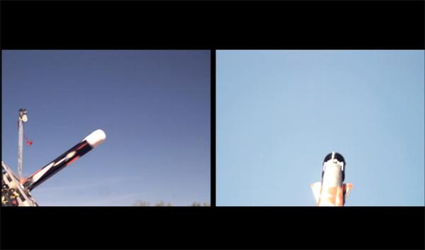 Đồng thời ONR đã công bố một video thử nghiệm và đồ họa chương trình này. (UAV rời khỏi bệ phóng)