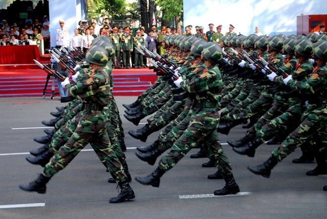 Khối sỹ quan Lục quân.