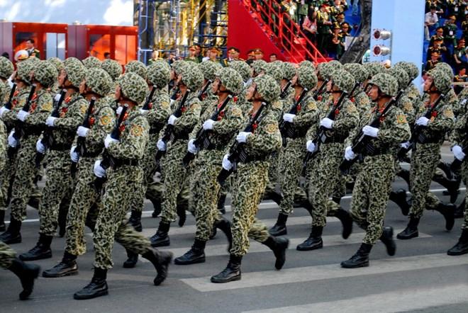 Khối sĩ quan Đặc công.