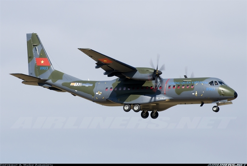 Đây là một trong 3 máy bay vận tải quân sự mới nhất và hiện đại nhất sẽ sớm được biên chế vào Không quân Việt Nam.