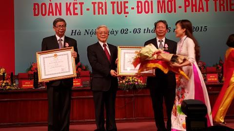 GS Đặng Vũ Minh tái đắc cử Chủ tịch LHH Việt Nam