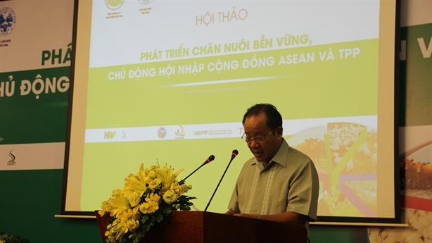 Chăn nuôi Việt Nam chủ động hội nhập ASEAN, TPP