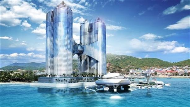 Chính thức dừng dự án tháp 65 tầng lấn biển Nha Trang