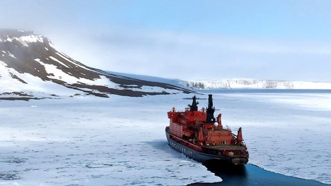 Điểm hệ trọng đầu tiên là Hoa Kỳ thiếu tàu phá băng. Vào thời điểm hiện nay, để nghiên cứu và khám phá vùng Cực Bắc thì người Mỹ chỉ có 2 tàu phá băng lớn nhưng chỉ chạy bằng động cơ diezel, mà trong đó chỉ có chiếc là Polar Star là còn có khả năng hoạt động. Trong ảnh: Tàu phá băng nguyên tử \