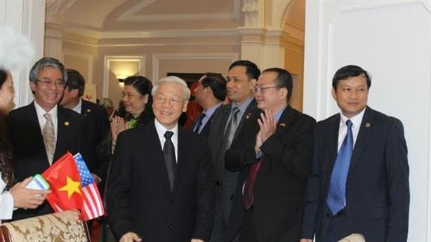 TBT Nguyễn Phú Trọng tại Mỹ: Ngày làm việc thứ 4