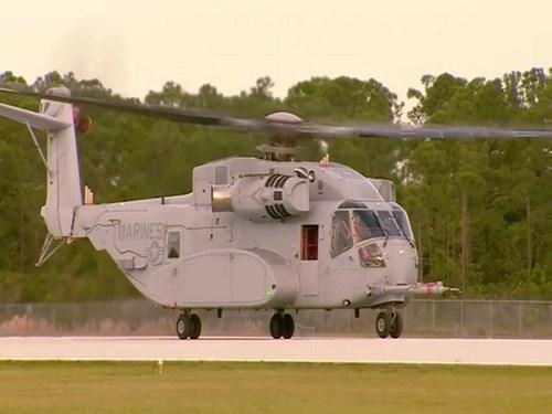 Ngày 27/10, hãng chế tạo Sikorsky Aircraft lần đầu tiên cho trực thăng vận tải CH-53K King Stallion cất cánh thành công. Theo giới thiệu của nhà sản xuất, đây là trực thăng vận tải được sản xuất với nhiều công nghệ hàng đầu hiện nay của Mỹ.