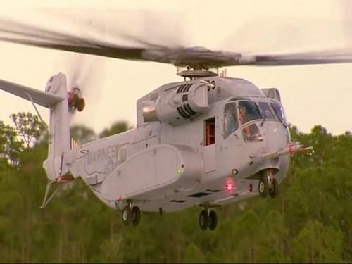 Tải trọng của trực thăng vận tải CH-53K lên tới 15,9 tấn (trong khi CH-53E chỉ là 13,6 tấn) đưa nó trở thành trực thăng vận tải lớn nhất của Quân đội Mỹ hiện nay.