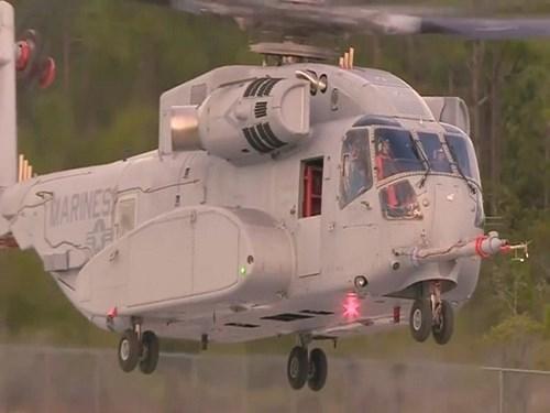 CH-53K có chiều dài lên tới 30,2m, cao 8,46m, trong đó phần cabin có chiều dài 9,14m, rộng 1,98m. Kích cỡ cabin rộng và lớn hơn 15% so với mẫu cũ CH-53.