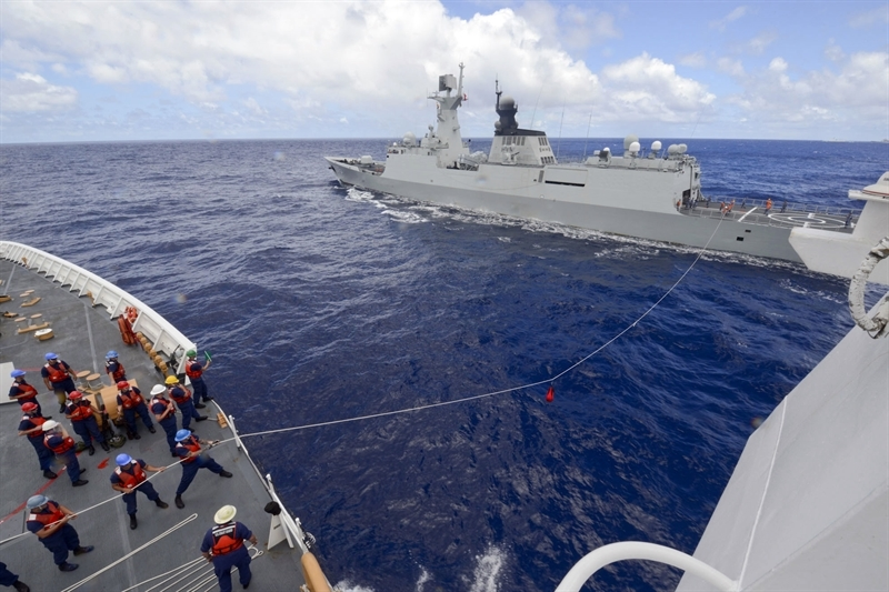 Nguồn tin dẫn thông báo của Hải quân Trung Quốc hôm 20/11 cho biết, cuộc tập trận diễn ra tại căn cứ Tam Á nhằm tập trung vào việc chống lại tàu ngầm đối phương.