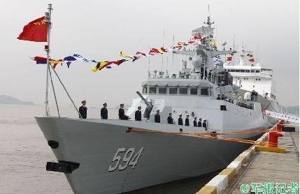 Tuy nhiên, thông báo này không nói rõ thời gian và địa điểm cuộc diễn tập được tiến hành cũng như dàn chiến hạm được huy động để tham gia tập trận. Nhưng căn cứ vào một số hình ảnh của cuộc tập trận cho thấy có sự xuất hiện của tàu săn ngầm Chu Châu 594, hộ vệ hạm chống ngầm Type 054A...