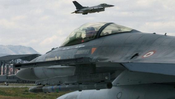 Tiêm kích Thổ Nhĩ Kỳ ngừng bay vào lãnh thổ Syria