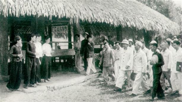 Đình Tân Trào nơi ghi dấu sự kiện trọng đại