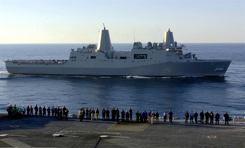 Theo kế hoạch, Hải quân Mỹ hiện đang nghiên cứu phát triển một phiên bản phòng thủ tên lửa đạn đạo của lớp tàu đổ bộ USS San Antonio. Tàu đổ bộ chở quân USS San Antonio sở hữu những đặc điểm kĩ thuật hoàn toàn phù hợp với một phiên bản tàu đổ bộ phòng thủ tên lửa đạn đạo, ông Majumdar cho biết.