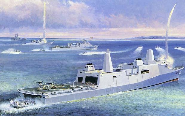 Kế hoạch đóng tàu phòng thủ tên lửa đạn đạo của Hải quân Mỹ vừa được Biên tập viên quốc phòng thuộc tạp chí National Interest - Dave Majumdar tiết lộ.