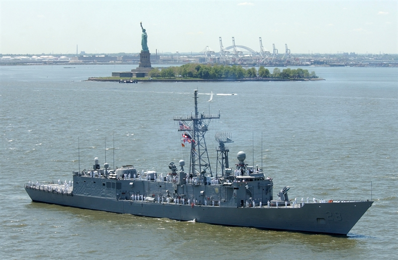 Nội dung dự luật số 1683 đã được thông qua cả hai viện của Quốc hội. Theo đó Mỹ sẽ bán cho Đài Loan 4 tàu hộ vệ tên lửa lớp Perry gồm: Tàu USS Taylor, USS Gary, USS Carr, và USS Elrod. Dự luật chuyển giao tàu chiến lớp Perry cho Đài Loan được Hạ viện Mỹ trình lần đầu tiên hồi tháng 11/2013 và thông qua hồi tháng 4/2014. Đồng thời, phía Đài Loan và Mỹ cũng đã trao đổi cụ thể về chương trình chuyển giao.