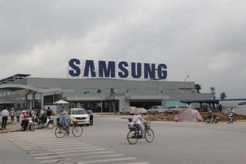 Xuat khau Viet Nam qua phu thuoc vao Samsung