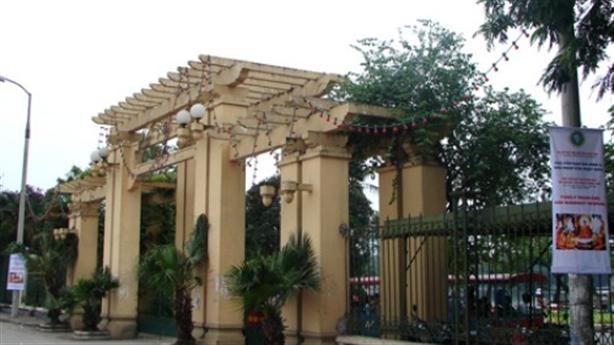 Thành ủy đồng ý xây bãi xe trong công viên Thống Nhất