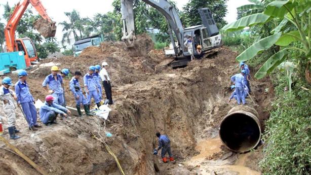 Đường ống sông Đà 2: Dấu hiệu ưu ái thầu Trung Quốc?