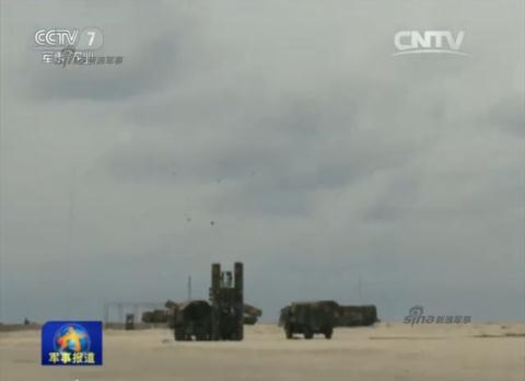 Ngày 29/3 Truyền thông Trung Quốc lại đưa tin đã tổ chức bắn thử tên lửa HQ-9 nghi là bắn ở đảo Phú Lâm thuộc quần đảo Hoàng Sa của Việt Nam để tiêu diệt mục tiêu là máy bay B-52 của Mỹ