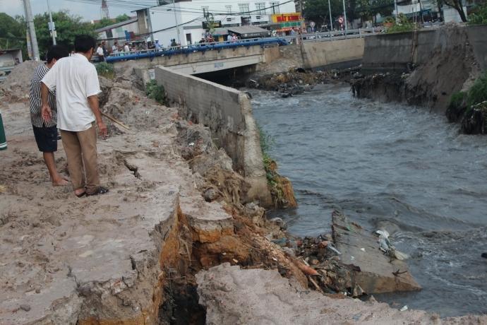 Được biết, đây là công trình cải tạo kênh với chiều dài 6km, tổng kinh phí khoảng 550 tỷ đồng. Công trình trọng điểm của tỉnh Đồng Nai.
