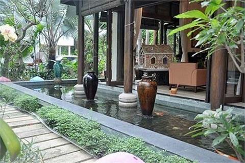 Ha Kieu Anh song nhu ba hoang trong biet thu trieu USD