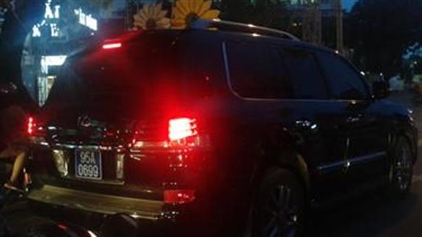 Vụ Phó Chủ tịch đi Lexus biển xanh: Đã rút kinh nghiệm