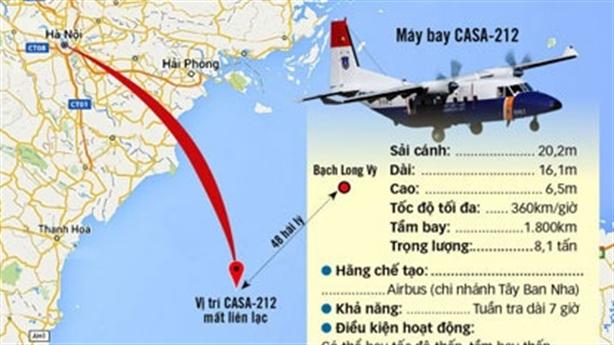 Tàu Trung Quốc tham gia tìm kiếm máy bay CASA-212