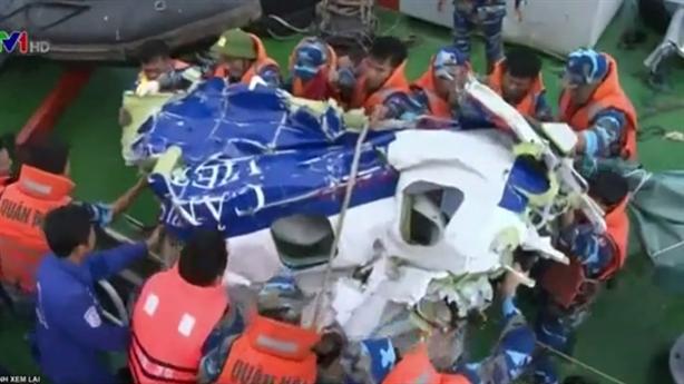 Video: Bước đầu tìm thấy balo của thành viên CaSa-212