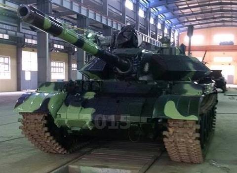 Sức mạnh hỏa lực: Theo nguồn tin này, xe tăng nâng cấp được trang bị súng máy hạng nặng NSV 12,7 mm do Việt Nam chế tạo, súng có khả năng tấn công các mục tiêu bay thấp trên không như trực thăng, UAV... Trong điều kiện chiến trường, súng cũng có thể hạ nòng để tấn công cả bộ binh và phương tiện của đối phương.
