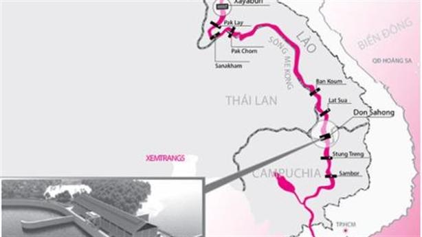 Lào khởi công thủy điện Don Sahong: Việt Nam thêm lo ngại