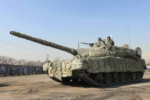 Chuẩn tướng Pourdastan cho biết, Iran từng quan tâm đến việc mua các xe tăng chiến đấu mới từ Nga, nhưng kể từ khi nước này hoàn tất việc phát triển dòng xe tăng chiến đấu nội địa mới thì kế hoạch mua T-90 từ Nga bị hủy bỏ.