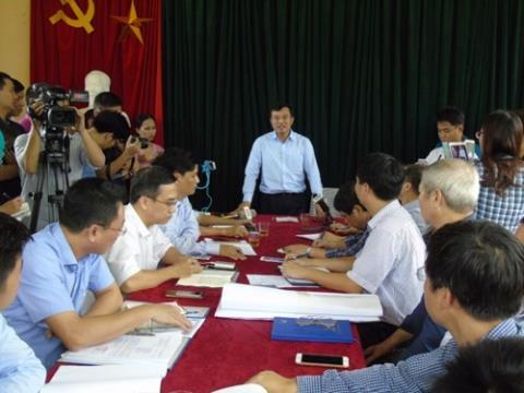 Thuy dien Ho Ho xa lu sau mua: Khong duoc hay lam...