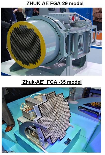 Yuri Guskov cũng cho rằng hệ thống radar ZHUK-AE cũng sẽ được thử nghiệm để lắp đặt trên các chiến đấu cơ Tejas của công ty Hindustan Aeronautics Limited đang phát triển cho Không quân Ấn Độ.