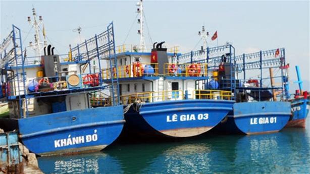 17 tàu cá