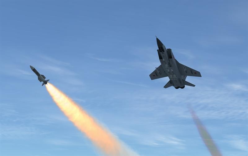Không quân Nga cho biết, ngoài bài tập đánh chặn ở độ cao lớn, trong cuộc diễn tập này, MiG-31 còn được thử sức với bài tập luyện tránh tên lửa trên không hay giành được lợi thế khi tấn công đối thủ.