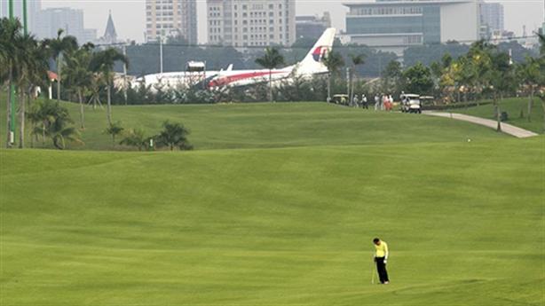 Sân golf gần Tân Sơn Nhất: Đất dự phòng của quân đội