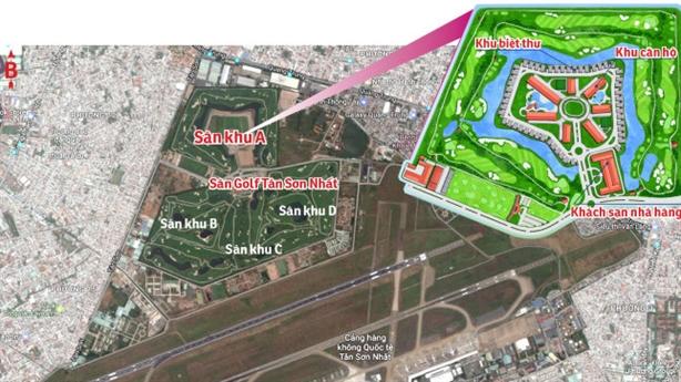 Mở rộng Tân Sơn Nhất: Lấy sân golf không phải tối ưu?