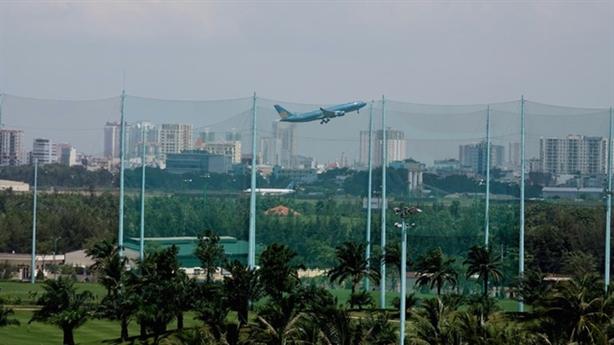 Sân golf trong sân bay Tân Sơn Nhất: Chỉ đạo mới nhất