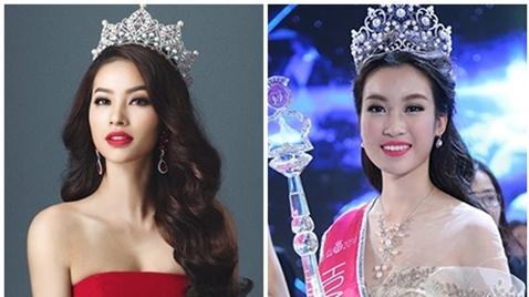 Bị so với Phạm Hương, Mỹ Linh đã biết 'xù lông'