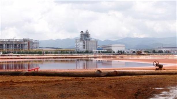 Nhà máy Bauxite Tân Rai xả thải: Không thể chấp nhận