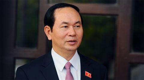 Chủ tịch nuóc Tràn Dại Quang gủi diẹn mùngTỏng thóng Moldova
