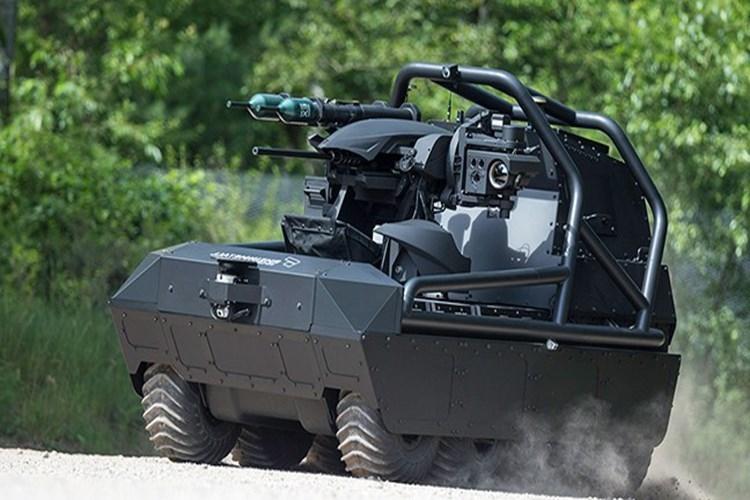 Giống như cái tên của mình, MM UGV được thiết kế để có thể thực hiện nhiều loại nhiệm vụ khác nhau từ trinh sát, bảo vệ đội hình bộ binh cho đến cả chiến đấu độc lập. Với thiết kế theo dạng modul MM UGV hoàn toàn có thể được tích hợp nhiều loại trang thiết bị khác nhau cho từng loại nhiệm vụ. Nguồn ảnh: Rheinmetall.