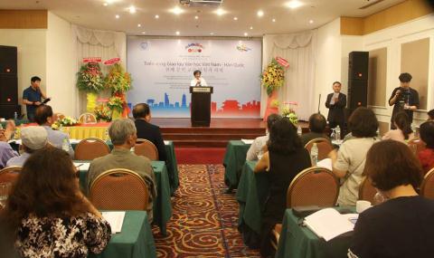 Trien vong giao luu van hoc Viet - Han 2017