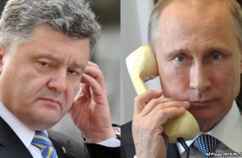 Giai ma viec Tong thong Ukraine goi dien cho Tong thong Putin